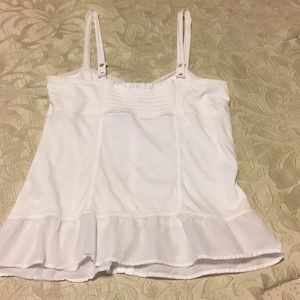 American Eagle Outfitters Tops - American Eagle Outfitters white cami